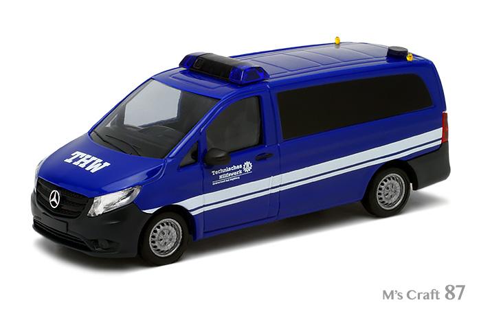 Busch Mercedes Vito THW  51124