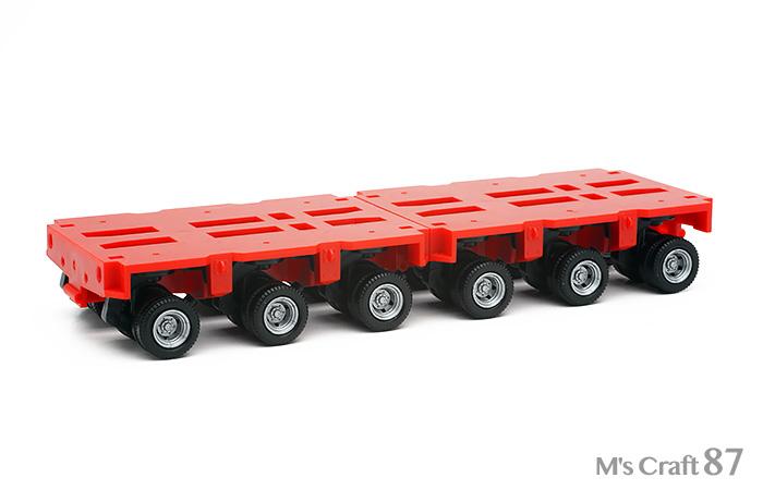 【ヘルパ】低床トレーラー3軸