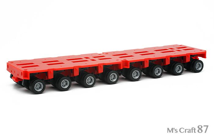 【ヘルパ】低床トレーラー4軸