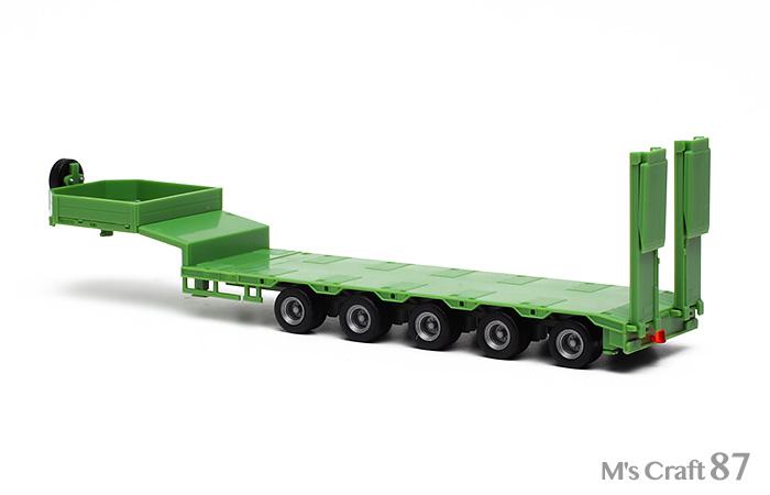 【ヘルパ】低床トレーラー